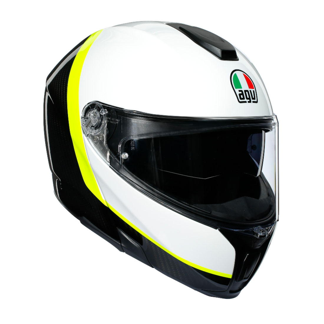 RAY CARBON/WHITE/YELLOW FLUO